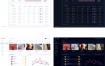 16套网站管理员后台用户界面控制版面仪表SEO图形UI设计PSD模板合集