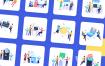 优秀的网页app启动页引导页插图优质设计素材下载