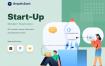 20个优质的app启动页插图优质设计素材下载