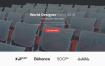 优秀的简洁清新的活动会议网站模板优质设计素材下载(提供Sketch格式下载)