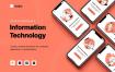 10款扁平化的app界面设计引导页设计插画素材下载
