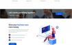 现代简洁的企业网站HTML模板素材下载