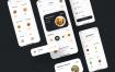 40+的现代餐厅应用的iOS界面设计UI工具包优质设计素材下载(提供sketch格式源文件)