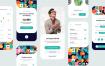 30+优质时尚的app界面设计UI套件金牌素材下载(提供Adobe XD格式下载)