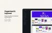 40多个简洁可爱青春活力的毕业设计项目app界面设计优质设计素材下载(提供Adobe XD格式下载)