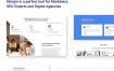 市场营销和搜索引擎优化的数字机构HTML模板下载