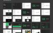 75个简洁的品牌作品展示风格指南设计素材下载(提供sketch格式源文件)