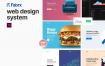 超级简洁优秀的网页设计系统优质设计素材下载(提供Adobe XD格式源文件)