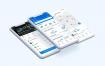 33个自动洗衣服务洗衣应用程序UI工具包优质设计素材下载(提供PSD和sketch格式源文件)