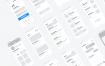200多个超级简洁的原型线框图优质设计素材下载(提供Adobe XD和sketch格式源文件)