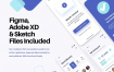20个钱包汇款银行金融与电子钱包应用UI套件优质设计素材下载(提供Adobe XD和sketch格式源文件)