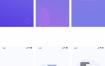 60个整套中文聊天社交交友APP界面模板UI面试作品集PSD设计素材微信