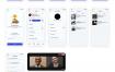 32个在线学习手机App UI界面设计素材下载