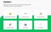 90个完整的生鲜蔬菜app计面设计项目精品素材下载