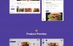 60个精品美食项目ui设计精品素材下载