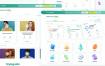 60个界面的在线教育平台UI工具包素材下载,提供figma格式文件