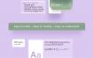 毛玻璃质感的ui设计素材源文件xd格式
