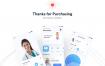 62个医疗应用程序 iOS 用户界面套件源文件下载xd格式fig格式