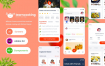 25个美食爱好者社交应用UI工具包源文件下载xd格式