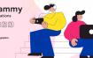 20幅关于团队合作主题的插图
