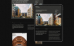 高端豪华优雅和时尚建筑企业网站设计素材