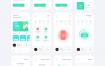 30个高品质的智能家居ui设计素材提供XD、figma、sketch格式ui设计素材源文件下载