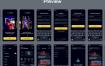 30个游戏中心应用ui设计素材提供XD、figma、sketch格式ui设计素材源文件下载