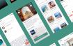 40个旅游出行旅行应用ui设计素材提供figma格式ui设计素材源文件下载