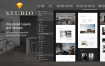 高端大气的室内设计和建筑网页设计素材提供sketch格式ui设计素材源文件下载