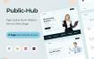 11个企业网站单页设计素材下载提供XD、figma、sketch格式