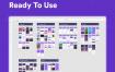 70多个优秀完整的项目应用UI界面XD格式ui设计素材源文件下载