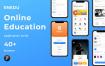 40个在线教育项目ui设计素材提供figma格式