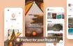 68个优秀的旅游博客ui设计素材提供figma格式