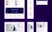 10个在线教育网页ui界面设计素材提供figma、sketch格式