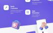 19个3d医疗保健行业立体图标素材