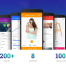 Material Design设计风格的app界面设计素材源文件下载