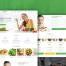 26个绿色健康食品网页设计素材下载