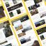 现代和简约的旅游俱乐部网站UI源文件设计精品ui设计素材下载