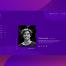 紫色系多用途的创意灵感ui设计模版源文件下载