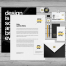 5套VI提案空白模版PSD精品源文件打包下载