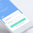 简洁清新的财物管理app界面设计素材下载