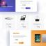 现代简洁电商网站产品展示素材源文件下载