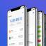 区块链比特币交易app界面精品素材下载