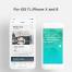 现代时髦,华丽而干净的的酒店浏览应用app程序界面设计素材,专门设计适配新的iOS 11,iPhone X和iPhone 8