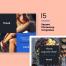 15个独特的社交媒体品牌网络banner广告模板素材下载