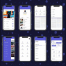 70多个适用于iOS和iPhone X的极致高品质的app界面设计素材,提供sketch格式的源文件ui设计素材下载