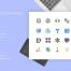 200个区块链图标Blockchain图标素材下载,包含SVG,PNG和EPS格式的4种图标样式