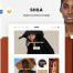 时尚文艺简约干净响应式网站界面模板ui设计素材,提供sketch和psd格式的源文件下载