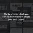 170个精品推荐网页设计ui素材和数百个页面元素页面设计素材,提供PSD和sketch源文件下载