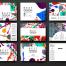 9款封面设计抽象纹理矢量素材模板 -包含AI源文件